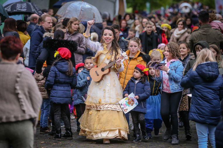 Intrede sint in Alden Biesen niet enkel zwarte pieten om de kinderen te entertainen, ook andere figuren