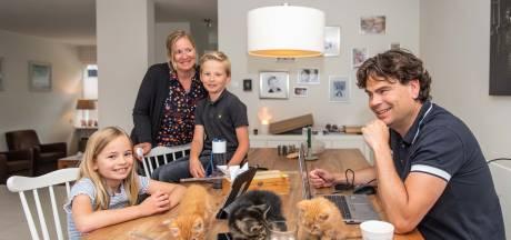 Einde aan het thuisonderwijs, twee Zeeuwse gezinnen blikken terug: 'De combinatie werk en privé gaf me stress en toen barstte de bom'