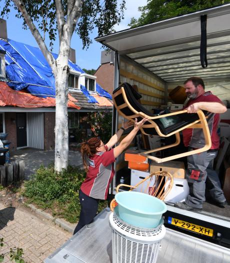 Vier Nieuwegeinse gezinnen maandenlang dakloos door brand