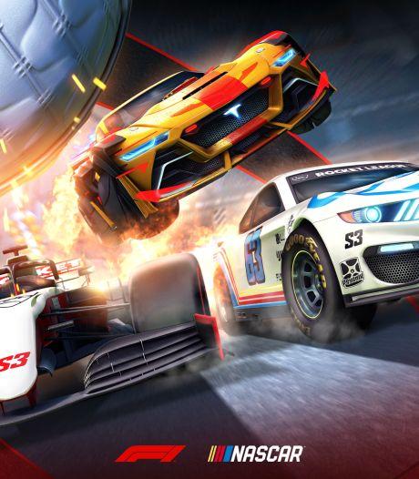 Rocket League krijgt Nascar- en Formule 1-auto's