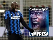 """""""C'est un vrai leader"""": Lukaku reçoit des louanges de la presse italienne après le sacre de l'Inter"""