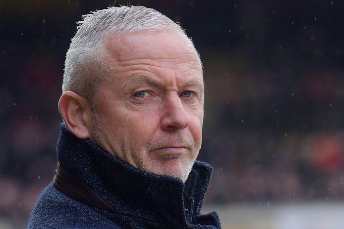 Jack de Gier in zijn tijd als trainer van Go Ahead Eagles.