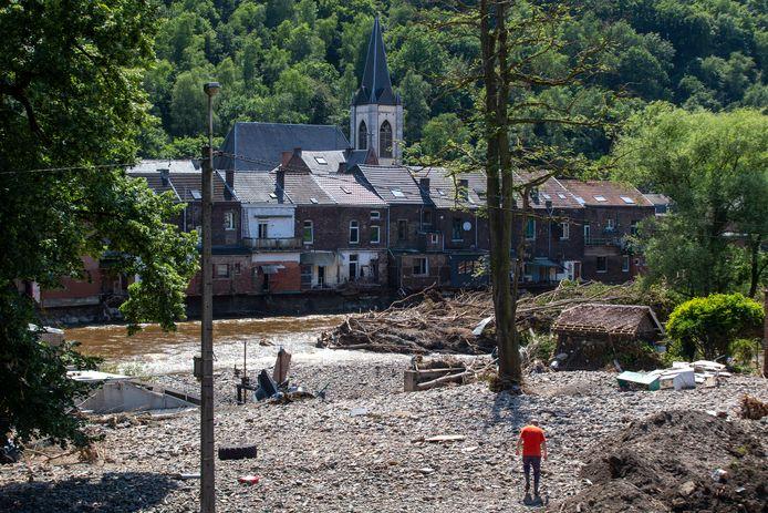 De ravage na de overstromingen is enorm groot in Chaudfontaine
