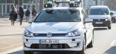 Zelfrijdende Volkswagens op proef in stadsverkeer