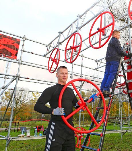 Warm je spieren maar vast op: dit nieuwe obstacle runningpark in Alphen opent bijna