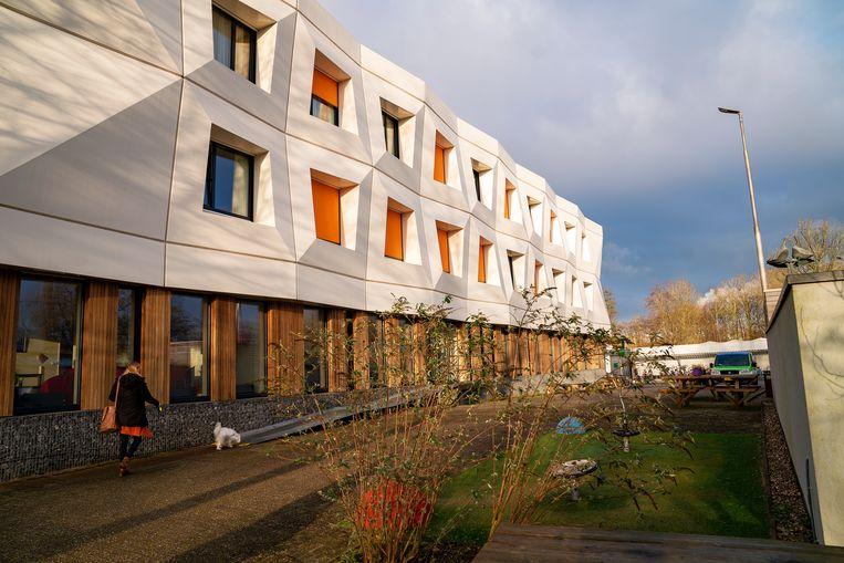 Het pand van Fier,  landelijke expertisecentrum in Leeuwarden voor behandelingen en begeleiding na mishandeling, uitbuiting en seksueel- en eergerelateerd geweld.  Beeld Inge Hondebrink