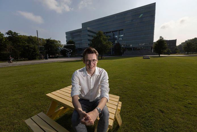 Dirk Lauret heeft drie masters tegelijkertijd afgerond op de TU/e.