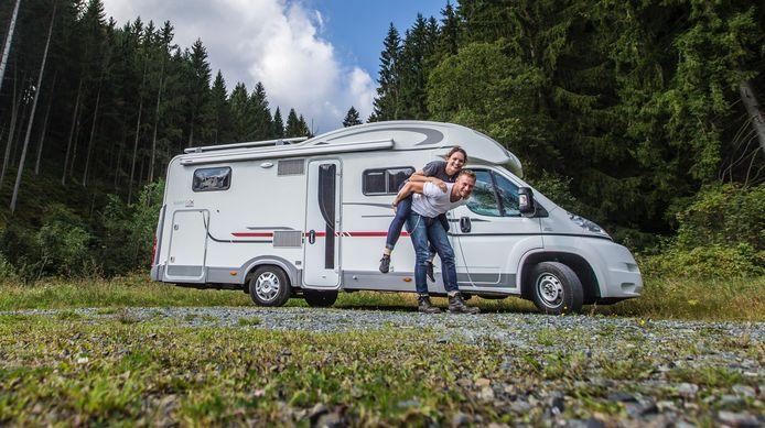 Mannen en vrouwen hebben een duidelijke rolverdeling tijdens het kamperen met een camper, blijkt uit onderzoek
