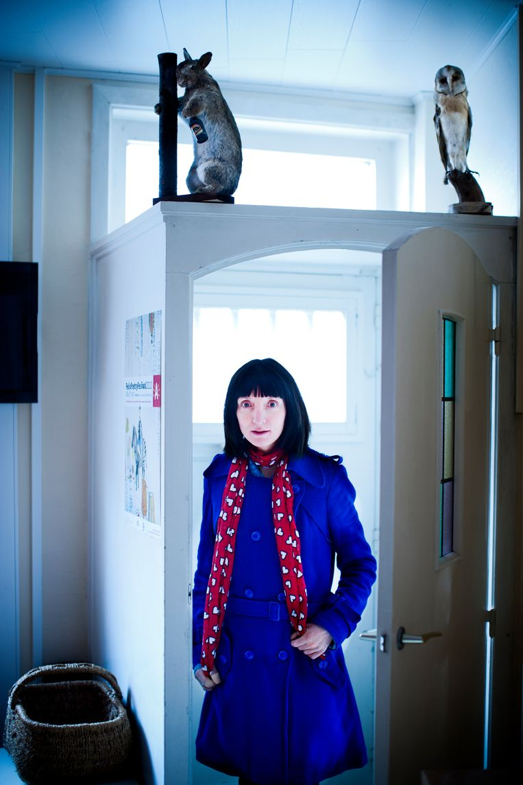 Delphine Lecompte,  2012 Beeld Johan Jacobs