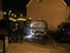 Opnieuw autobrand in Waddinxveen