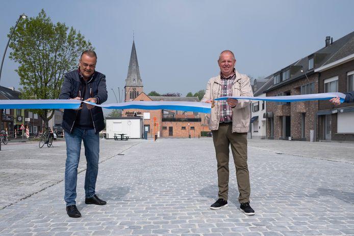 In april ging het plein officieel open, komend weekend is er een openingsfeestje voor de buurt