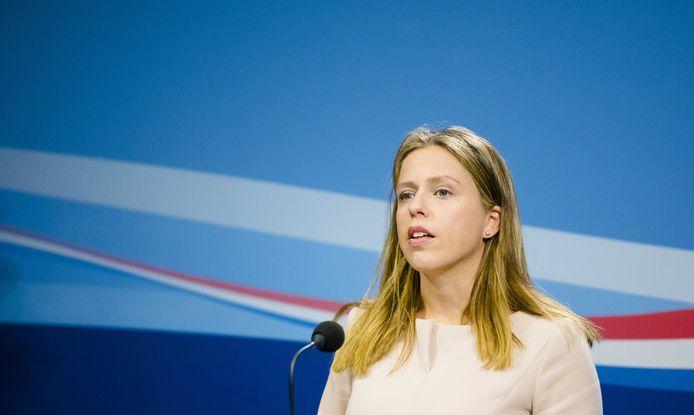 Minister Schouten van Landbouw.