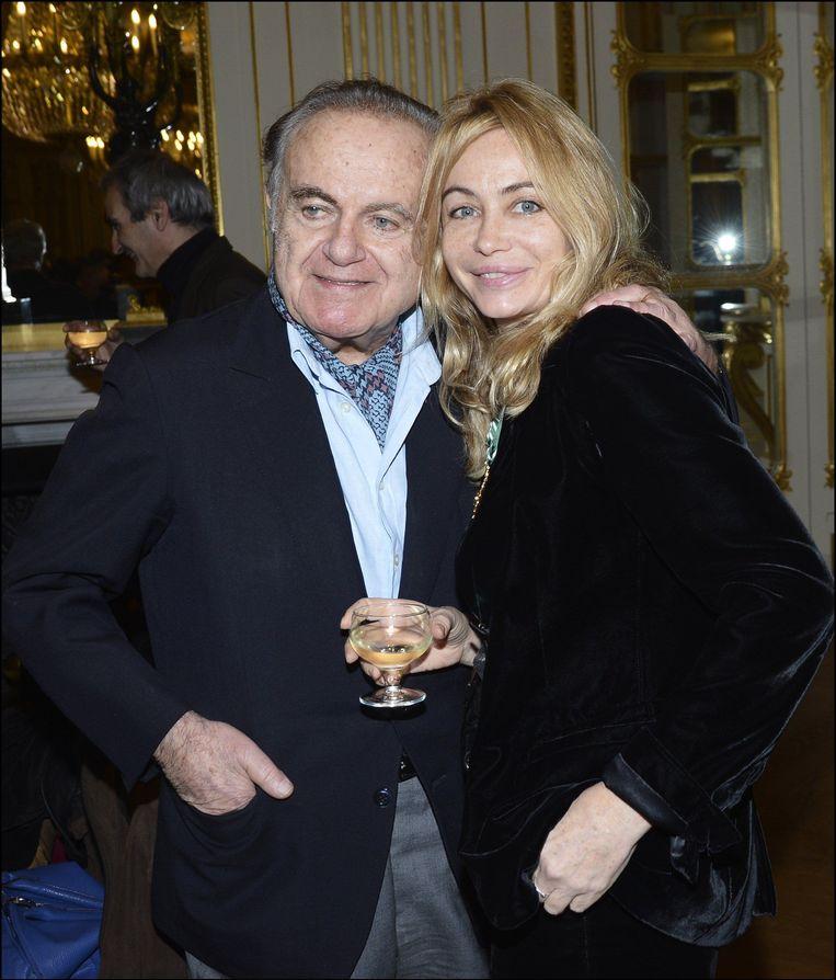 Guy met zijn dochter Emanuelle.