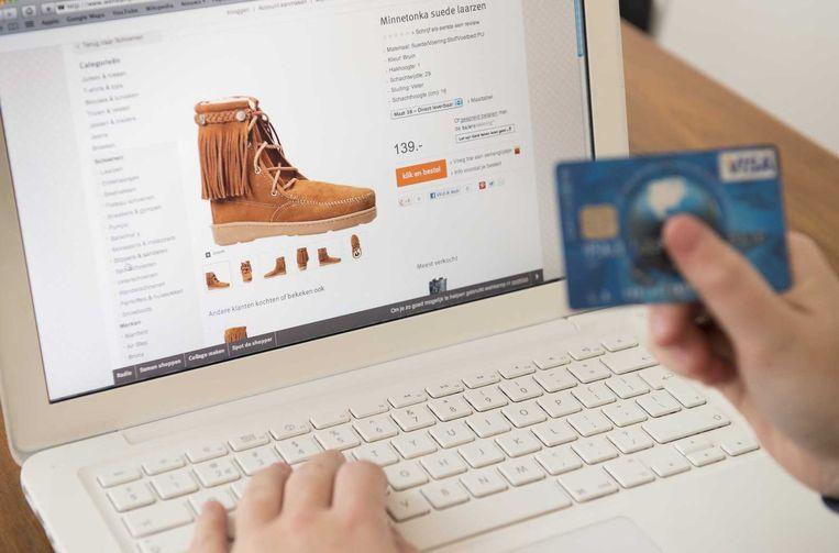 Online winkelen groeit in populariteit en consumenten hebben steeds meer te kiezen. Beeld ANP