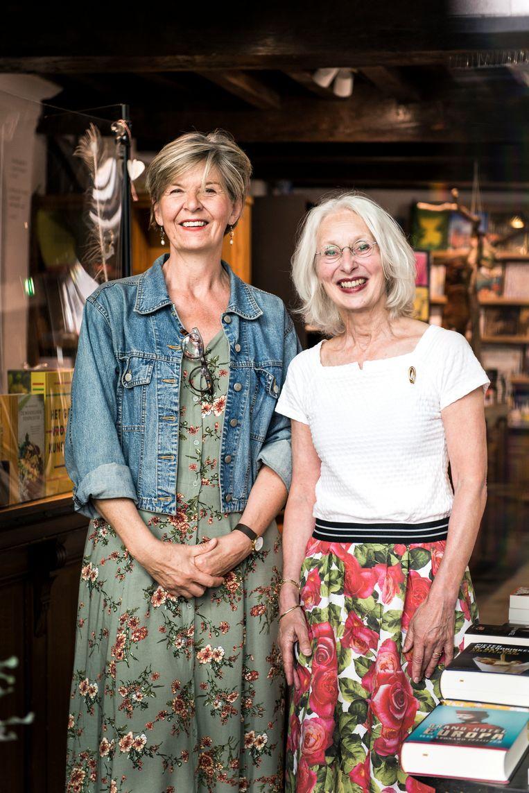 Inge Keppels (links) en Emmy van Ingen  Beeld Eva Faché