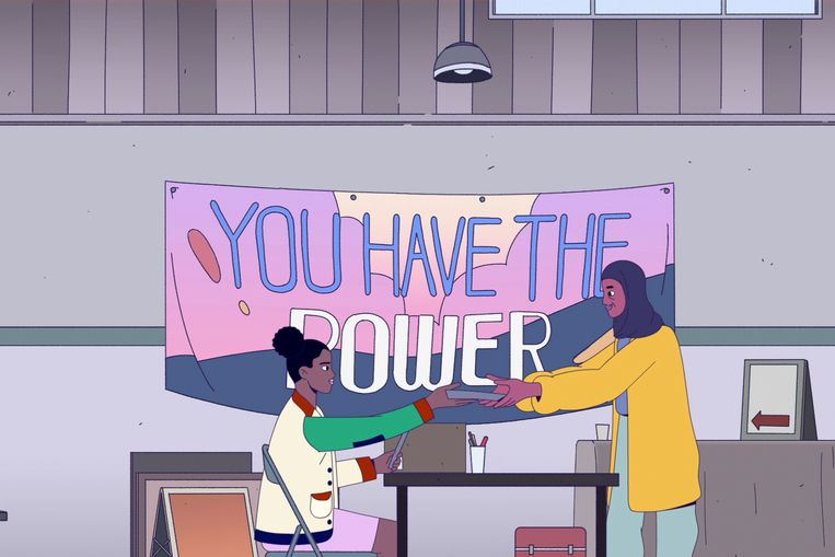 Een still uit de aflevering 'Active Citizenship'. Beeld AP