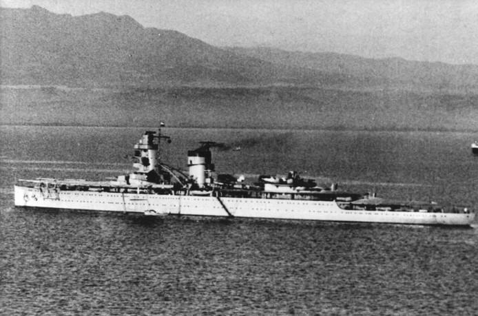 De Hr.Ms. De Ruyter verging in 1942 tijdens de slag in de Javazee