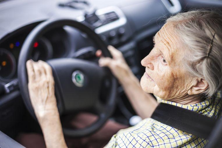 'Ik rijd al 60 jaar zonder en ben nog nooit gecontroleerd', sprak de bejaarde dame.