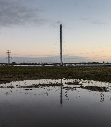 Poeplucht in Zutphen nog voor einde van het jaar verdwenen, reusachtige pijp in aantocht