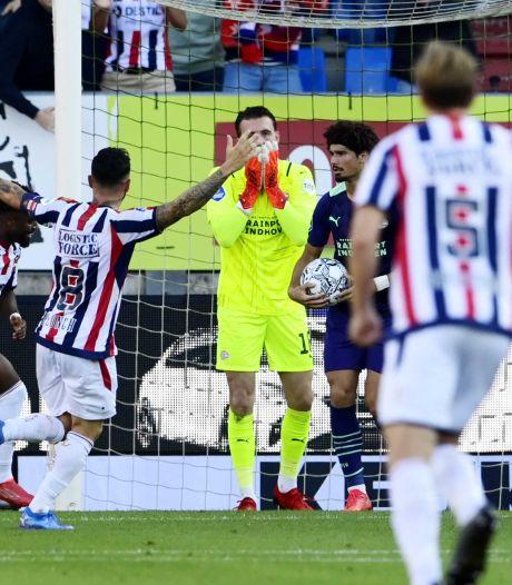 PSV in enorme problemen door blunder Drommel en nederlaag tegen Willem II