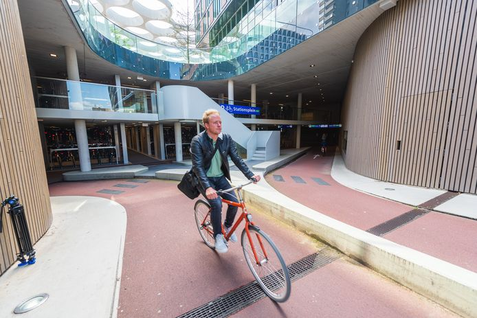 Een van de fietsenstallingen in Utrecht