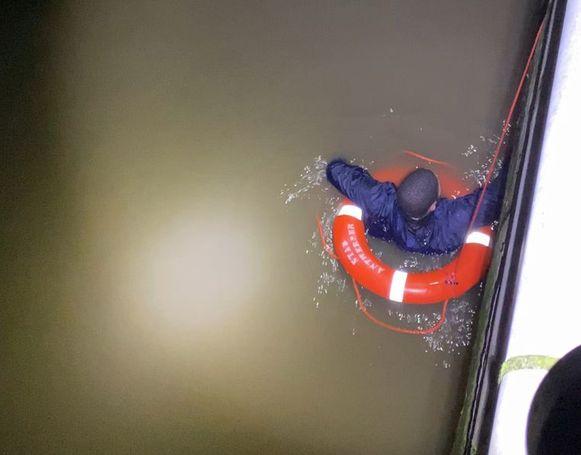 Ontvoerder Omar L. sprong op 30 december 2019 in de Schelde nadat hij zou ingebroken hebben in een gokkantoor.