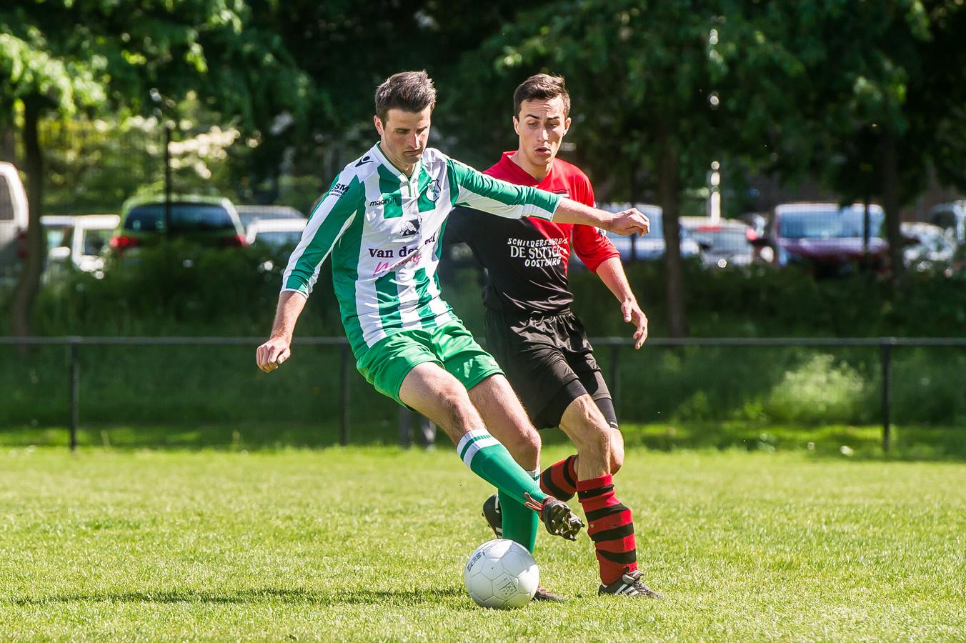 ODIO, METO en WVV'67 strijden, nu er in de competitie niets meer te halen valt, voor de sportieve eer. ODIO mag zich voorlopig de beste van de gemeente Woensdrecht noemen, maar wordt op de voet gevolgd door METO en WVV'67.