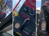 Tiener haalt gevaarlijke stunt uit op rijdende bus