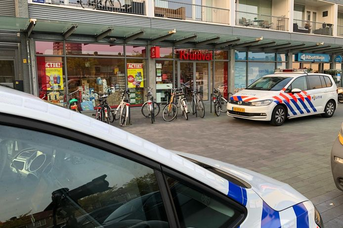 Overval Kruidvatfiliaal aan Cassandraplein in Eindhoven.