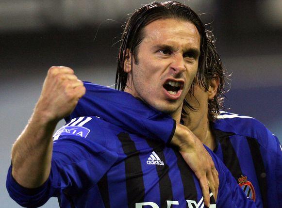 Balaban in z'n tijd bij Club Brugge.