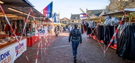 Marktkooplui in Haaksbergen ten einde raad: 'Moet ik straks een kogel door m'n kop schieten?'