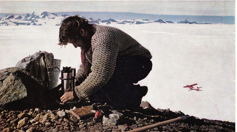Tony Van Autenboer op expeditie.