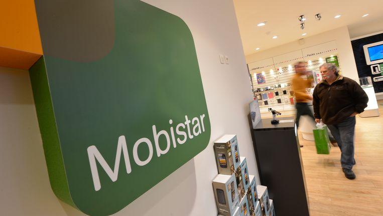 Er zijn voorlopig geen aanwijzingen dat Mobistar, telecomoperator van de Vlaamse Overheid, het slachtoffer werd van cyberspionage. Beeld BELGA