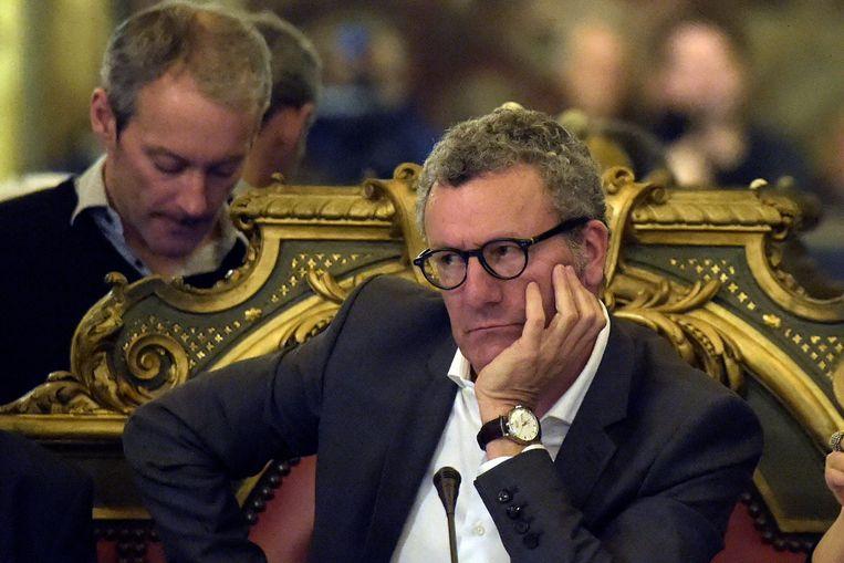 Brussels burgemeester Yvan Mayeur (PS). Beeld Photo News