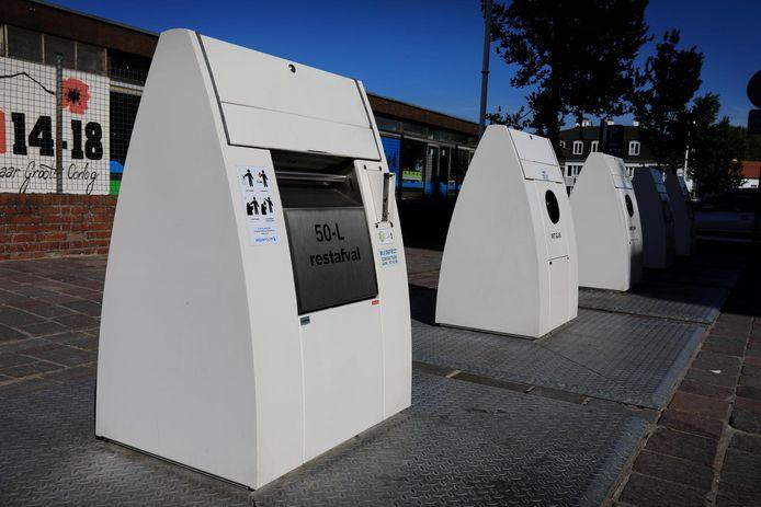 Containers waarbij het afval onder de grond terechtkomt, bestaan al in Nieuwpoort.