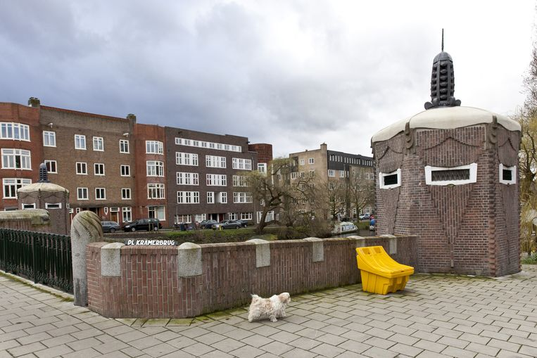 Brug over het Amstelkanaal van Piet Kramer Beeld Roy Del Vecchio
