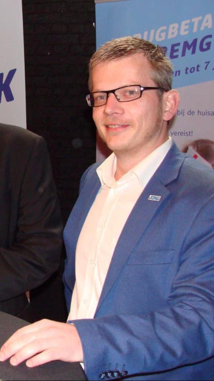 Filip Caudron, partijvoorzitter Open Vld Aalst.