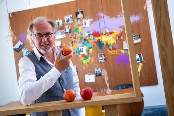 Hans Steenbergen van Shoot my food op het WFC.