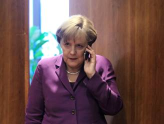 """Merkel: """"Aftappen onder vrienden kan niet"""""""
