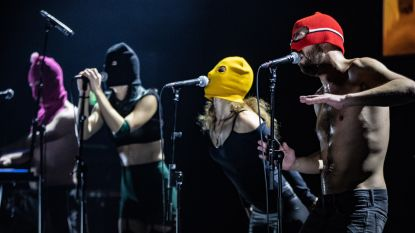 Russische politie legt opname stil van videoclip van muziekband Pussy Riot