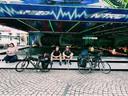 De tocht door Duitsland duurde eindeloos, maar inmiddels zijn Steven Borghouts en Sander Schimmelpenninck aangekomen in Polen.