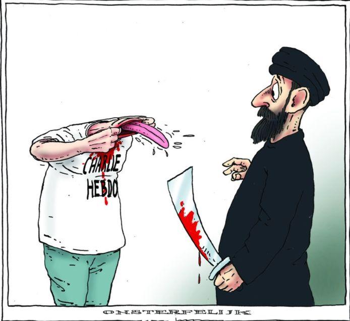 De bewuste cartoon.