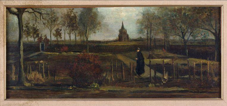 Vincent van Gogh: 'Lentetuin, de pastorietuin te Nuenen in het voorjaar' Beeld via REUTERS
