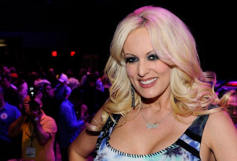 Stormy Daniels in 2012 in Las Vegas. Beeld AFP