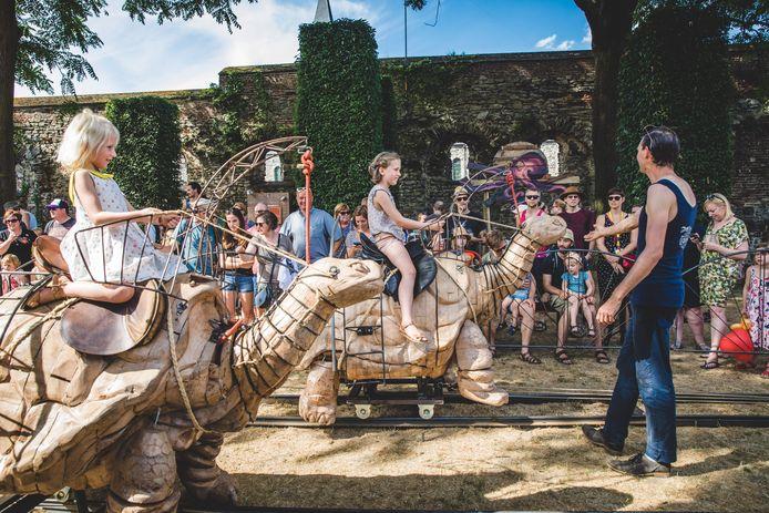 Gentse Feesten bij MiramirO op de Sint-Baafssite