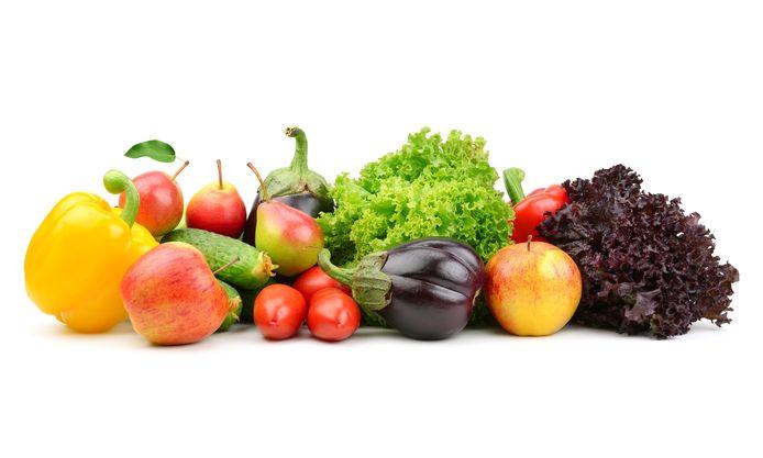 Onder meer groenten en fruit komen van pas.