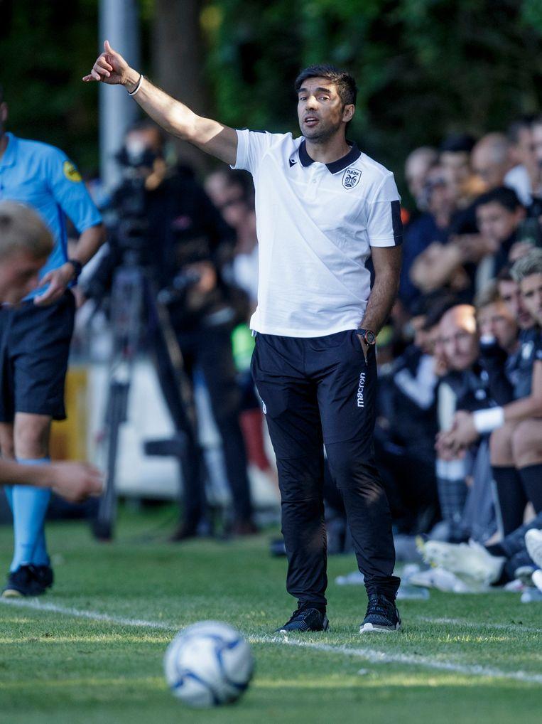Abel Ferreira is momenteel trainer van PAOK Saloniki, de ploeg die Ajax in de voorronde van de Champions League de stuipen op het lijf joeg.  Beeld null