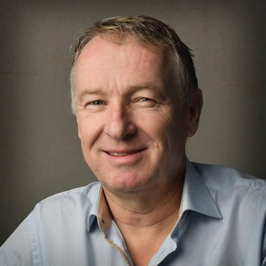 Journalist Henk van Schuppen.