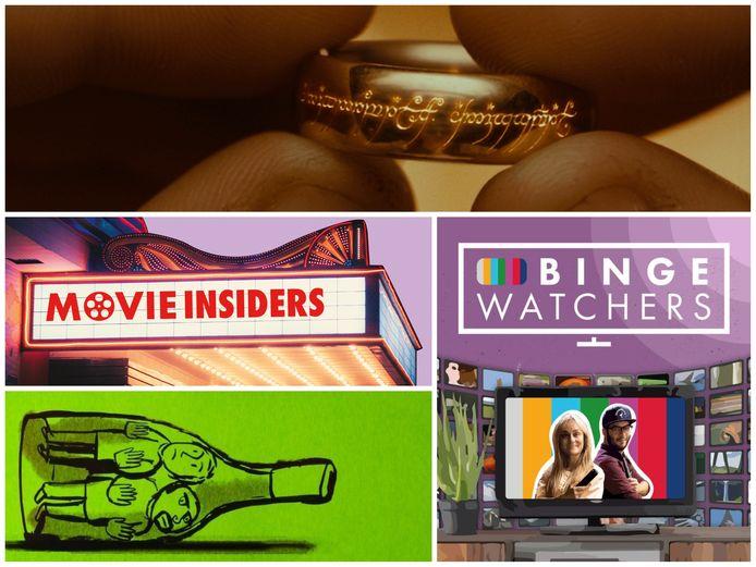 De MovieInsiders en de Bingewatchers zijn in elkaars podcast te gast.