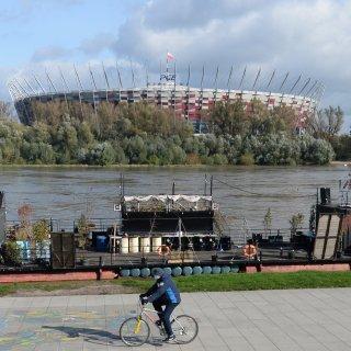 Nationaal Stadion in Warschau wordt noodziekenhuis